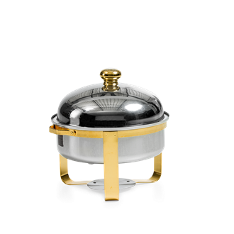 Chafing dish rond 30cm