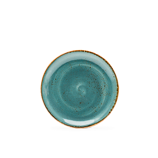 Sideplate rond Craft blue