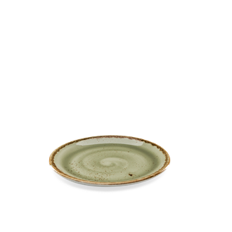 Sideplate rond Craft green